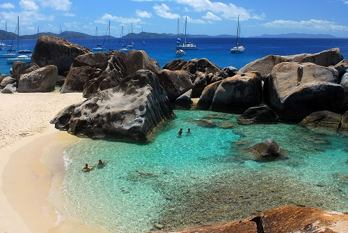 BVI Virgin Gorda Baths Beach Cuan Law
